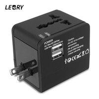 LEORY Universal International World Travel AC Adapter Converter Plug US UK AU EU Multi Plug Wall