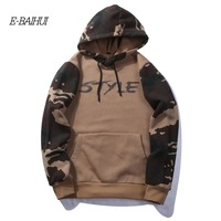E BAIHUI Autumn Men Hooded Sweatshirts 2017 New Mens Hoodies Sweatshirts Brand Clothing Fashion Male Hoodies