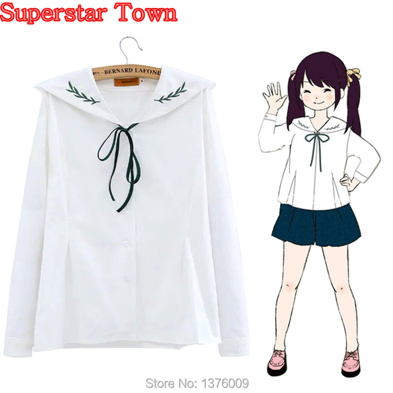 White women blouses mori girl lolita tops embroidery