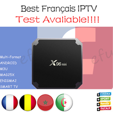 Get more info on the French IPTV X96 mini Android 7.1 Smart TV BOX 2G16G/1G8G with 1300+ NEOTV QHDTV Arabic Belgium Morocco PayTV & VOD Set top  Box