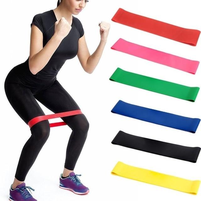 DHL 50Set 5PCS Set Elastic Resistance Bands Workout Rubber Loop For Fitness Gym Strength Training Elastic