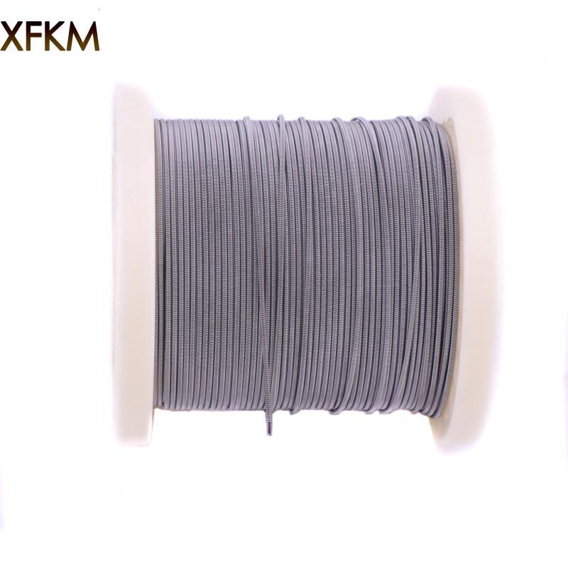 XFKM 300 футов (100 м) /рулон Alien Клэптон Тигр плавленого провода нагревательного провода для RDA РБА ввиду распылитель испаритель катушки