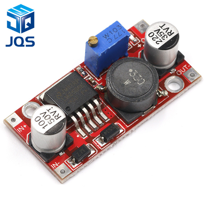 LM2596S DC-DC 3.6-46V 3A Adjustable Step-down Power Supply Module With Reverse Connection Protection 5V Voltage Regulator