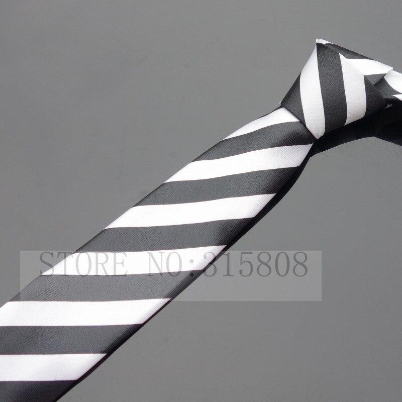 Ikepeibao печатных тонкий узкий шеи галстуки для мужчин полосатый тощий галстук аксессуары - Цвет: P001 As pic show