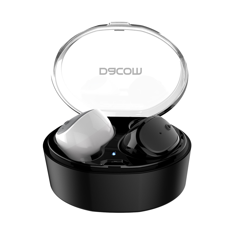 Dacom S030 handsfree earpiece in-ear stereo headset mini wireless bluetooth earphone headphone for phone hoco mini bluetooth earphone with microphone wireless headset for phone invisible earpiece music in ear hook handsfree for car