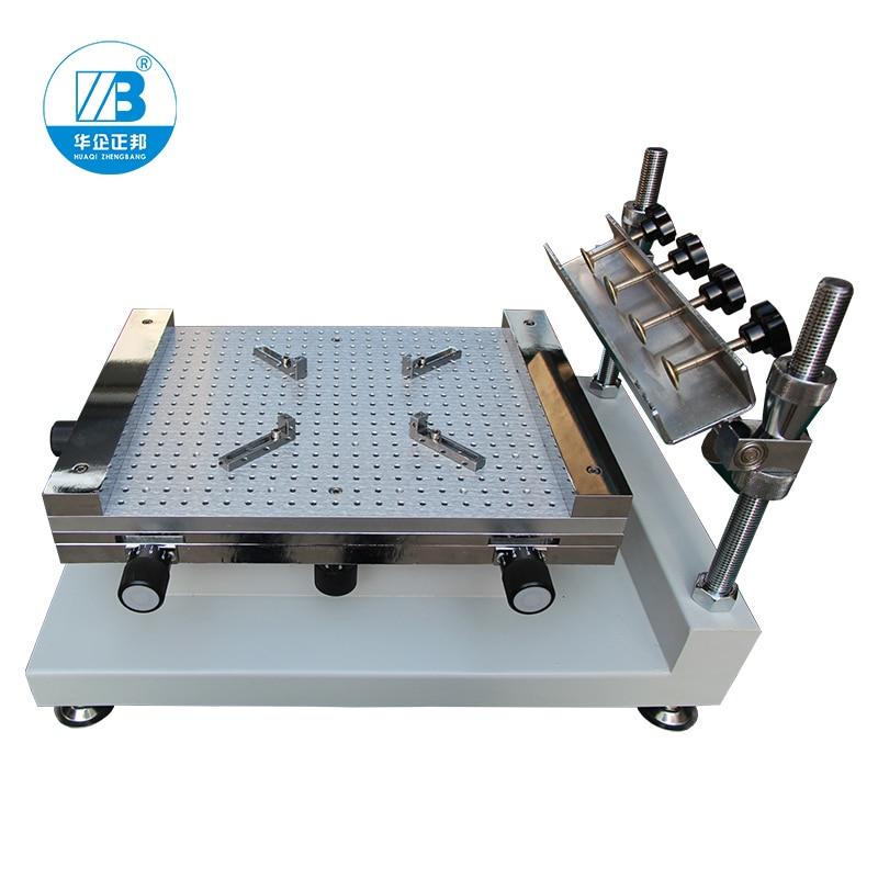 Manufacturer high Precision manual smt stencil printer SMT Screen PrinterPCB printerPCB solder paste printer for PCB Printing