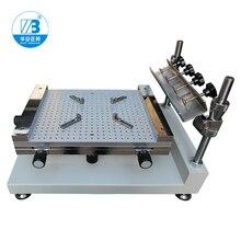 יצרן גבוהה דיוק ידני smt סטנסיל מדפסת, SMT מסך מדפסת, PCB מדפסת, PCB הלחמה להדביק מדפסת עבור PCB הדפסה