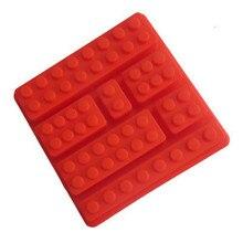 Silicone Lego Brick Style Square Sharped Mould