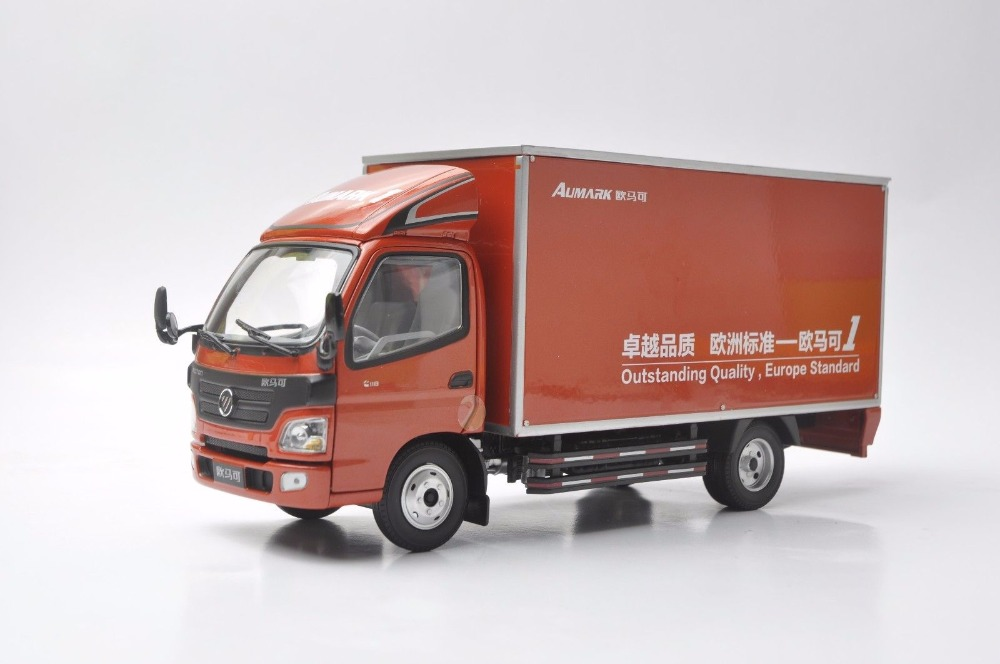 1:24 Diecast Model for Foton Aumark 1 Truck Alloy Toy Car Miniature Collection Gifts alloy diecast model trucks transport 1 50 engineering car vehicle scale truck collection gift toy