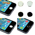 U Original 2 Pcs Metal Home Button Keypad Sticker Key Post for iPhone 4 4S 5 5S 6 6S For iPad N0223