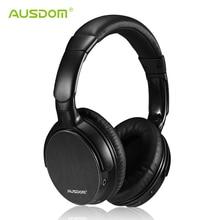 Ausdom M06 Headset inalámbrico de auriculares Bluetooth estéreo de graves profundos auriculares diadema manos libres reproductor de música para la tableta del teléfono