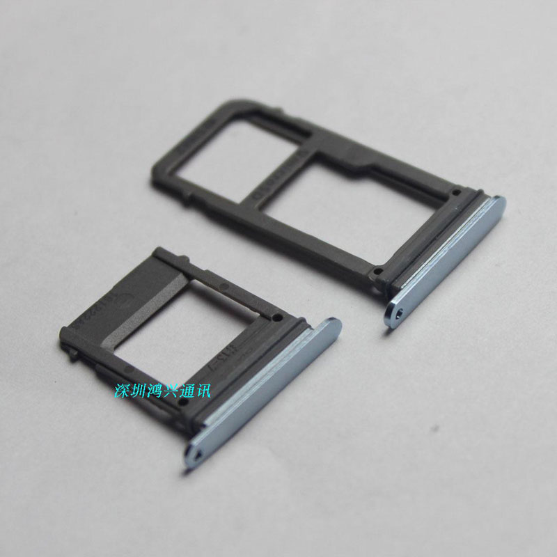 10sets/lot New sim tray For Samsung Galaxy A5 2017 A520 A7 2017 A720 Single Dual SIM Card Tray Slot + SD Card Holder Adapter