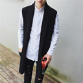 2016 new men sweater vest coat male sleeveless cardigan knitted jacket fashion casual knitwear vest waistcoat C28