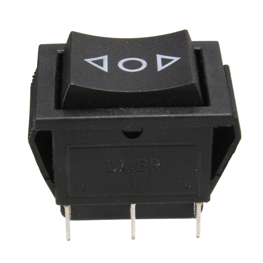 6-Pin DPDT Power Window Momentary Rocker Switch 250V/10A 125V/15A Mini Size High Quality image