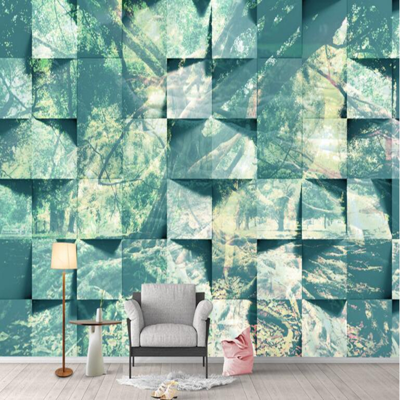 US $21.31 47% OFF|Wood Wallpaper Bedroom Forest Wallpaper for Home Jungle  Abstract Desktop Wallpaper Hd 3d TV Room Furniture Living Room Ideas-in ...