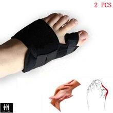 2Pcs/Pair Soft Bunion Splint Correction Corrector Medical Device Hallux Valgus Foot Care Toe Separator Thumb Valgus Protector  недорого