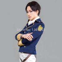 Attack on Titan Jacket Shingeki no Kyojin cosplay costume Eren Jaeger Jacket Glod Embroidery tag Glod wing Halloween