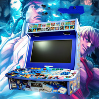 Cdragon DIY arcade nostalgia yueguangbaohe shell 4 home video game arcade KOF arcade Street custom