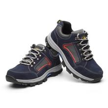 Mannen Stalen Neus Veiligheid Werkschoenen Mannen Onverwoestbaar Veiligheidsschoenen Lichtgewicht Industriële Bouw Schoen Mens Winter Laarzen
