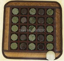 Health care heating jade cushion Natural tourmaline mat physical therapy mat heated jade mattress 45*45CM