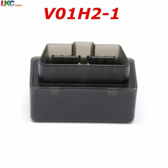 Big Sale 50pcs DHL New Style V01H2-1 OBDII Car Diagnosis Scanner Version V1.5 elm327 Bluetooth Diagnostic Machine OBD2 Protocol V01B2-1