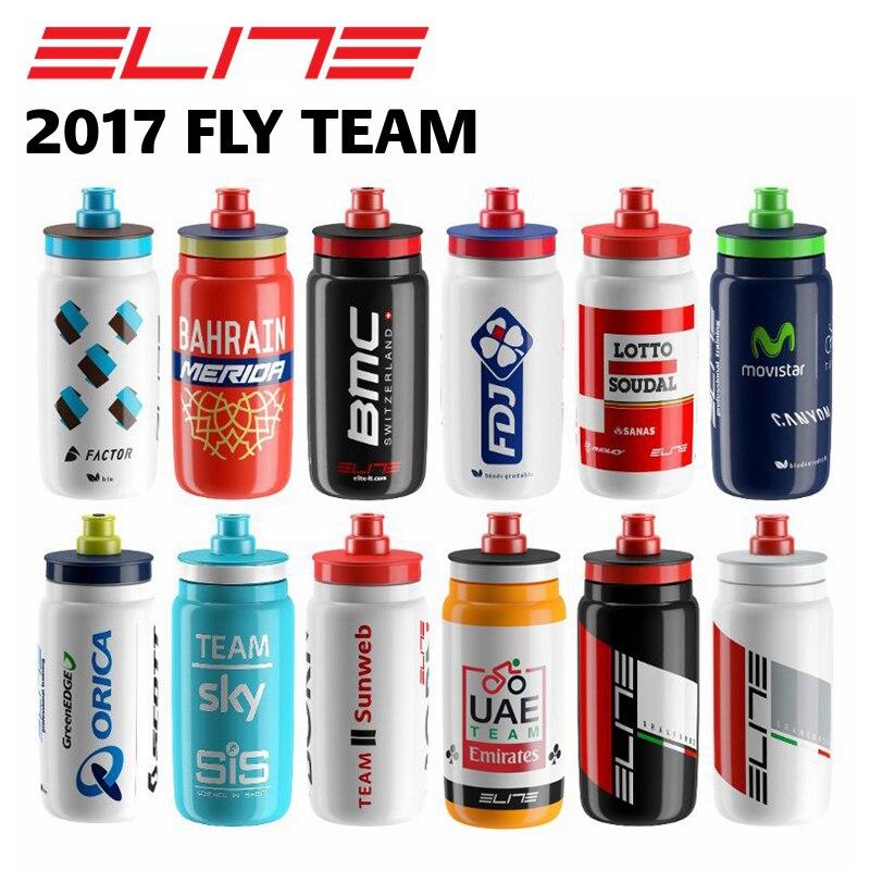 Elite Fly Équipe Bouteille 550 ml 2017, vélo vélo Bouteille D'eau Sport Bouteille D'eau dans Bicycle Water Bottle de Sports et loisirs