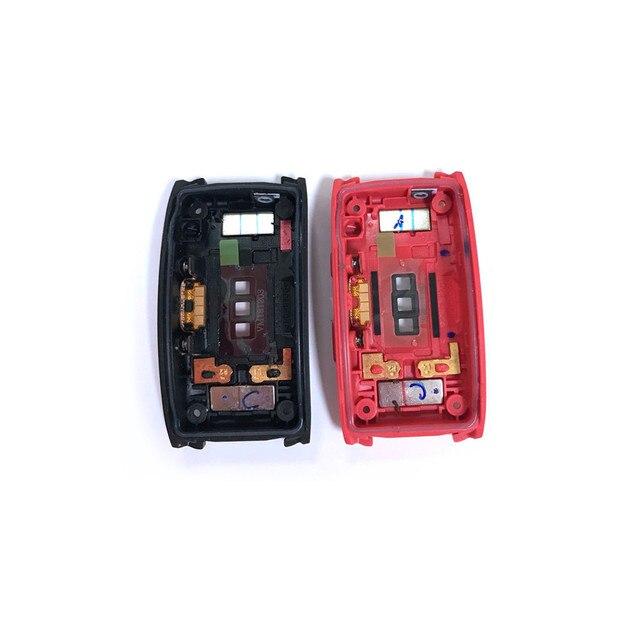 Oryginalna tylna pokrywa drzwi obudowa pokrywa baterii do Samsung Gear Fit 2 Pro SM R365 Smartwatch z ładowaniem Touch Spot