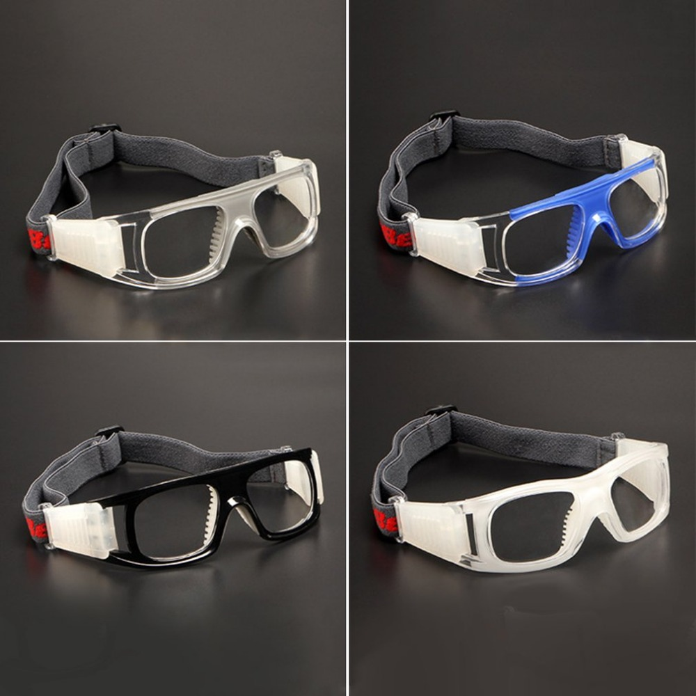 Anti-Impact Shockproof Sport Basketball Football Eyewear Goggles Breathable PC Lens Protective Eye Glasses for Children/Adult runacc children sports goggles adjustable kids basketball glasses protective eye glasses for girls and boys