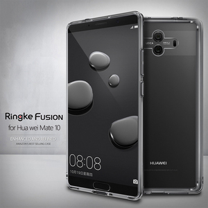 Image 1 - Ringke Fusion Voor Huawei Mate 10 Case Clear Pc Back Cover Soft Tpu Frame Hybrid