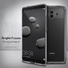 Ringke Fusion für Huawei Mate 10 Fall Klar PC Zurück Abdeckung Weiche TPU Frame Hybrid
