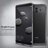 Ringke Fusion For Huawei Mate 10 Case Clear PC Back Cover Soft TPU Frame Hybrid For