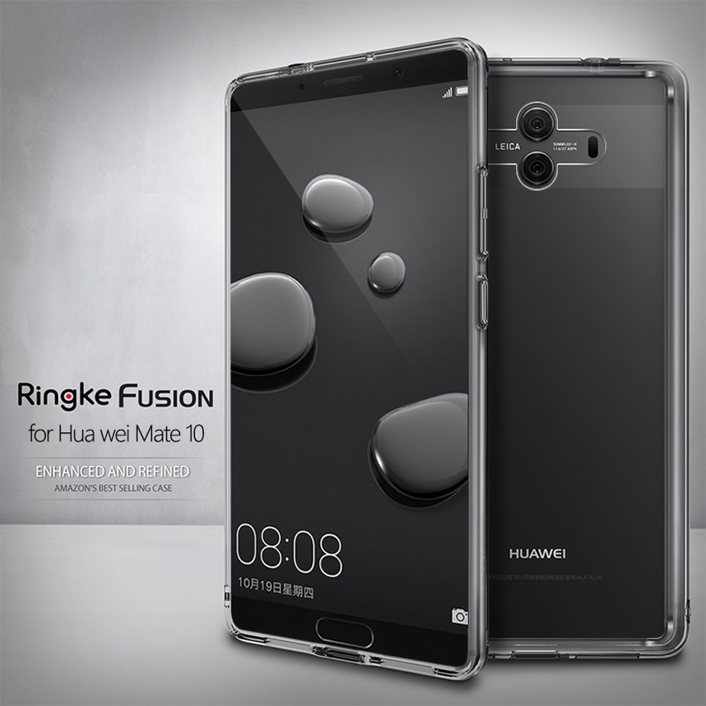 the latest bcb20 221b5 US $14.99 |Ringke Fusion for Huawei Mate 10 Case Clear PC Back Cover Soft  TPU Frame Hybrid for Mate 10 Pro-in Fitted Cases from Cellphones & ...