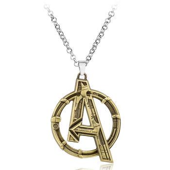 The Avengers Logo Necklace (2 Colors) 1