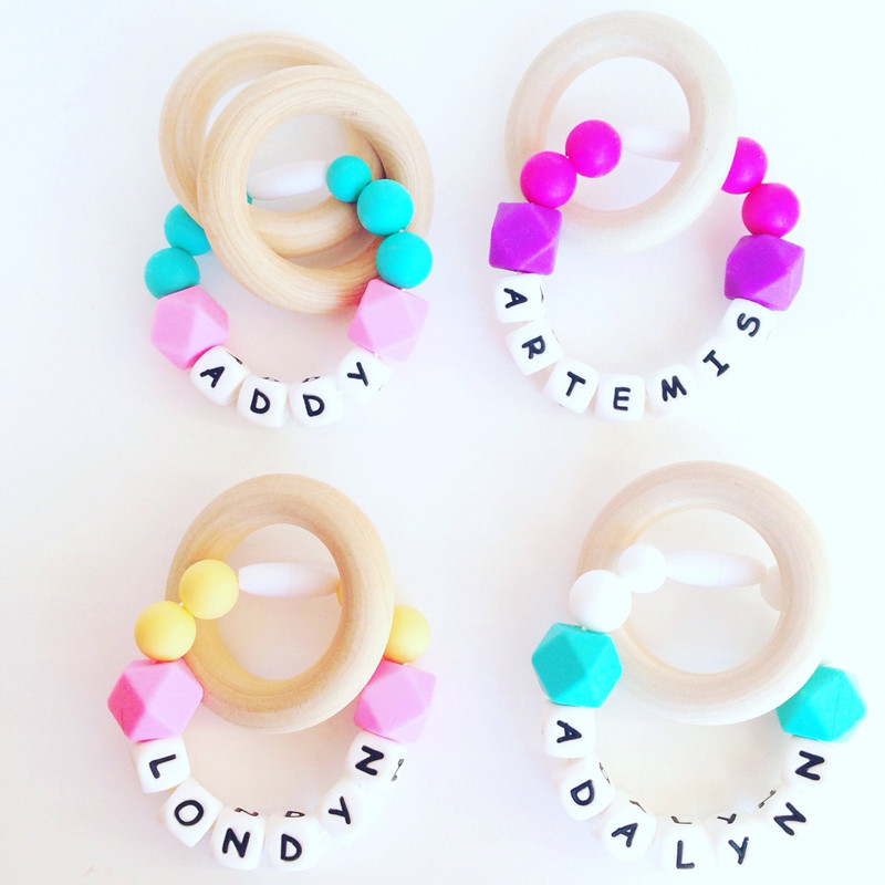 on rings lolaandstella by best teething chew teether wood ring necklace dwmarie pinterest toys organic images wooden
