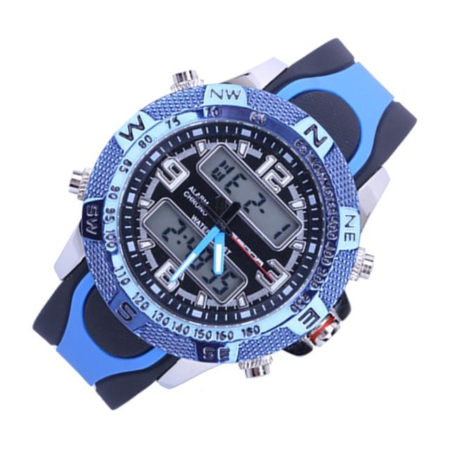 Sport electronic form Korean version LED  waterproof watch Men Fashion Watch top quality clock army wristwatch military Luxury