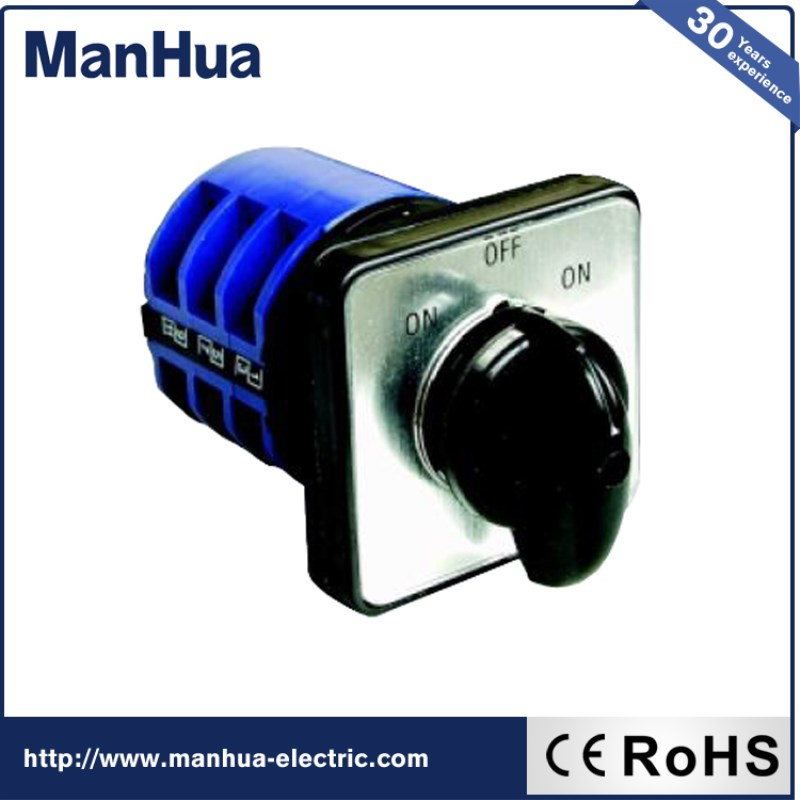 Manhua New Product For Sale Automatic CA10 32A Changeover Switch 440V Universal Switch Sensor Switch Smart Home Max 40V Use Wide 660v ui 10a ith 8 terminals rotary cam universal changeover combination switch