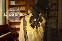 Giapponese Harajuku Steampunk Gear Vintage Fiocco Al Collo Cravatta Punk Lolita Camicetta Tie per le Ragazze