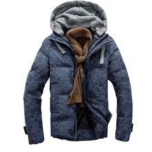 Men jacket down & parkas coat Duck Down padded Military Outwear Zipper Up Parkas thicken man jacket warm parka Chaquetas