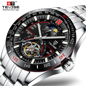 2020 Tevise Mechanical Watches Fashion Luxury Men's Automatic Watch Clock Male Business Waterproof Wristwatch relogio masculino