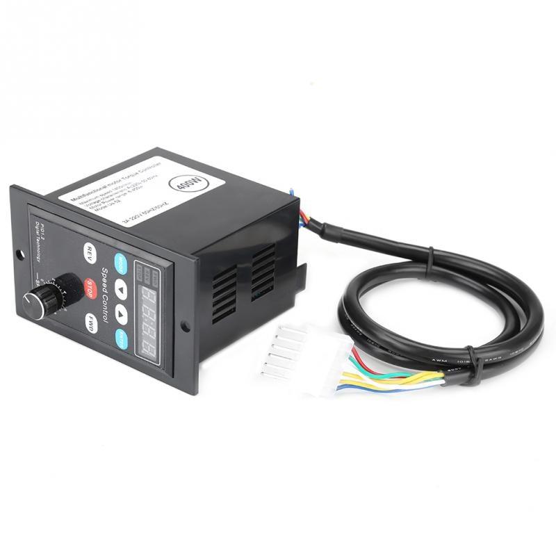ux-52 Digital Display AC Motor Governor Motor Speed Controller Soft Start 6-400W