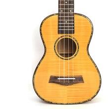 Afanti Гавайская гитара 23 дюймов клен стиль миниатюрная гитара укулеле