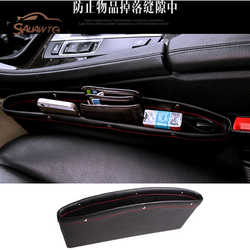 Car Seat Gap Filler Pocket Storage Organizer For Lexus RX NX GS RX300 RX350 CT200H GS300 SEAT leon 2 1 3 5f ibiza 6l 6j Cordoba for lexus es is gs gx ls ct lx rx rc nx new brand luxury soft pu leather car seat cover front