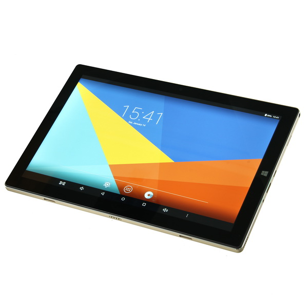 TecLast 4G RAM 64G Dual Tbook 10s 246.1x165.9x8.7mm 10.1 Inch Screen 224PPI Z8350 Micro HDMI WIFI Gold And Black Light Tablet