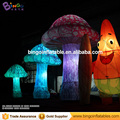 led lighting wonderfull giant inflatable mushroom 4m for stage/concert decoration/alice theme or customize BG-A1037 flashing toy