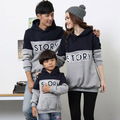 2017 spring new family clothing mother Dad kid long sleeve t-shirts Sweatshirts factory direct wholesale tide