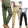 Cargo Pants Midweight Regular Direct Selling Hot Sale 2016 Mens Military Cotton Pantalones Hombre Casual Chinos For Men 036