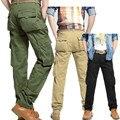 Pantalones de carga de Peso Medio Regular Venta Directa Venta Caliente 2016 Mens Militar de Algodón Pantalones Hombre Pantalones Casuales Para Hombres 036