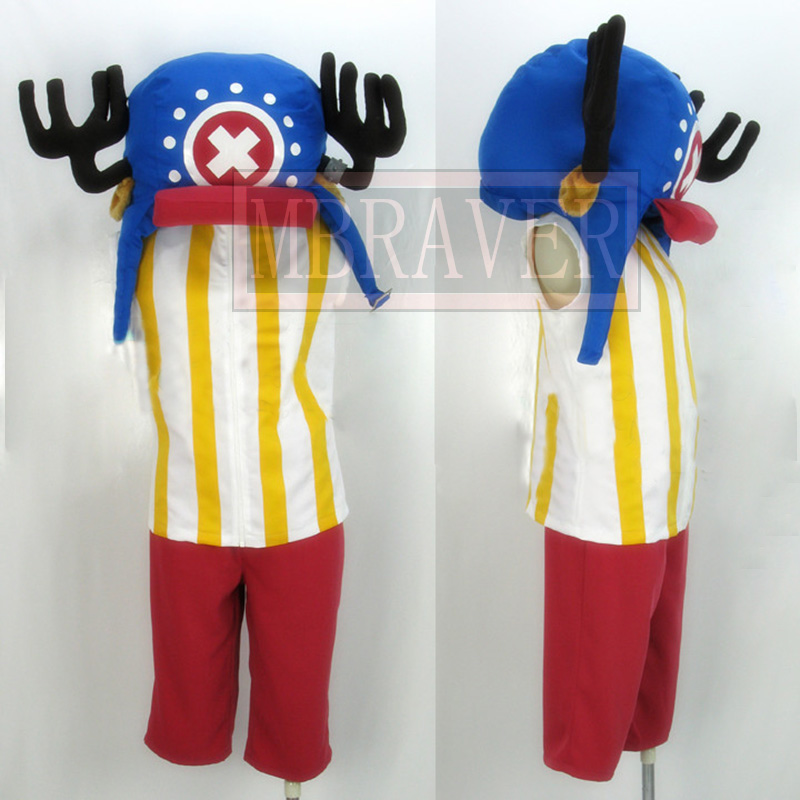 One Piece Tony Tony Chopper Cosplay Costume Anime one piece Chopper Cosplay Full Set