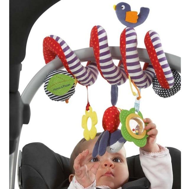 Mamamiya Papas Baby Toys Spiral Activity Stroller Car Seat Cot Babyplay Travel Products