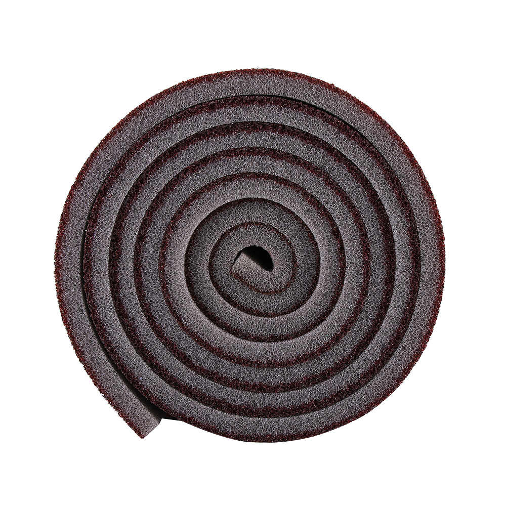 1 Roll/3 PC Coklat 100 CM * 9 Cm Roll Baru Emery Membersihkan Spons Dapur Magic Cleaner Karat RUB Pot Kitchenhousehold Alat Pembersih